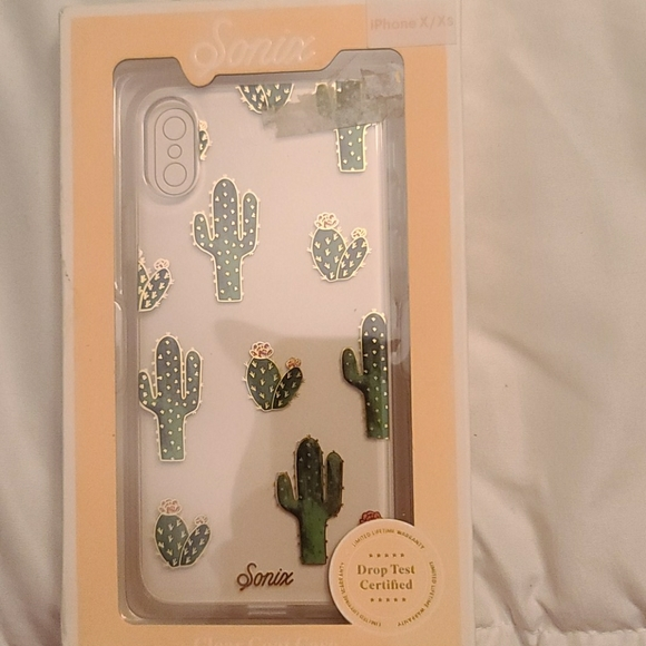 Sonix Apple iPhone X/XS Clear Coat Case - Prickly